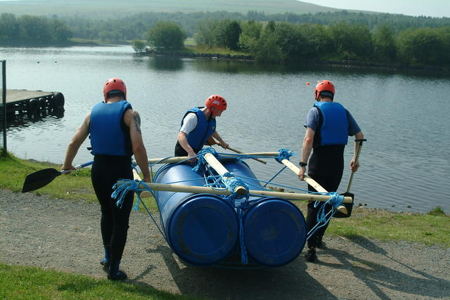 Enjoy a group activity in Derbyshire on a UK holiday
