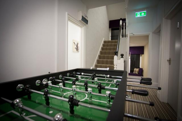 Table Football on first floor