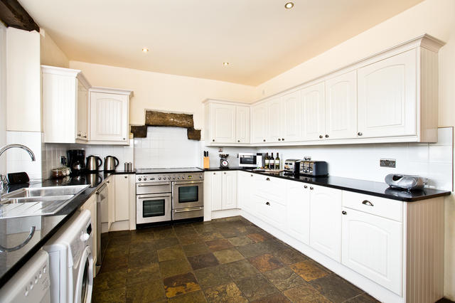 Spacious fully equipped fitted farm house kitchen- The Grange