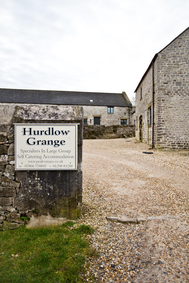Hurdlow Grange entrance