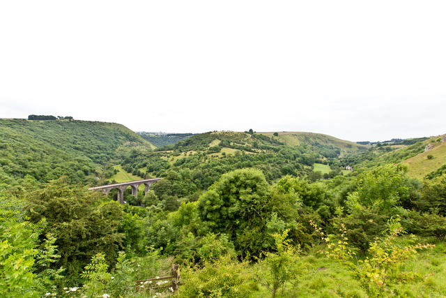 Uninterupted views over Monsal Dale
