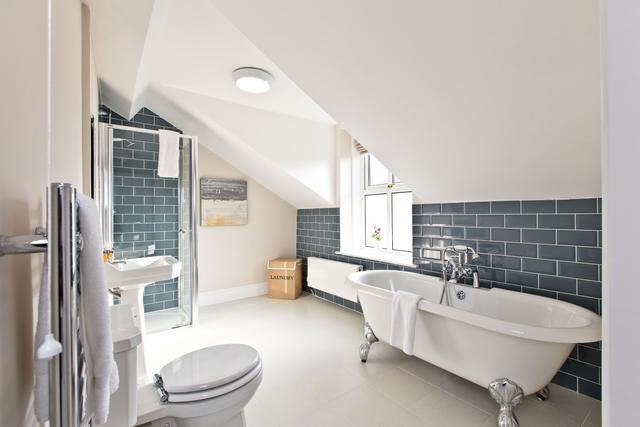 Second floor shared bathroom