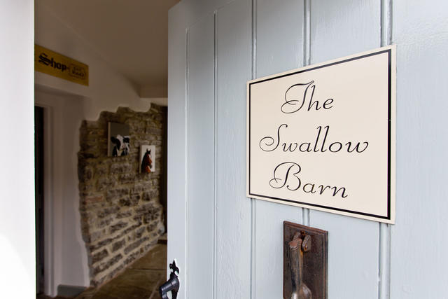 Entrance to Swallow Barn