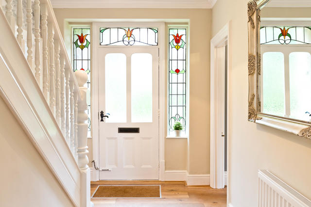 Bright and airy entrance hall