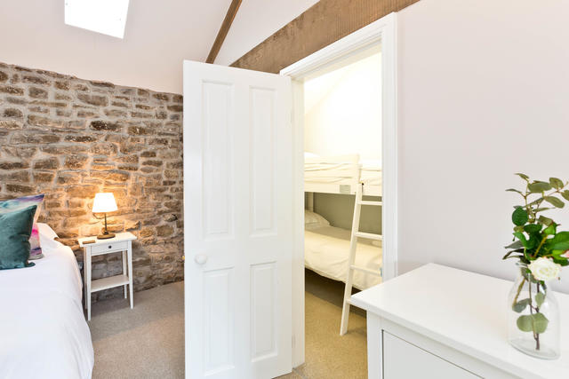 Dale Barn First Floor Bedroom Twelve with Bunk Bed Room and En Suite