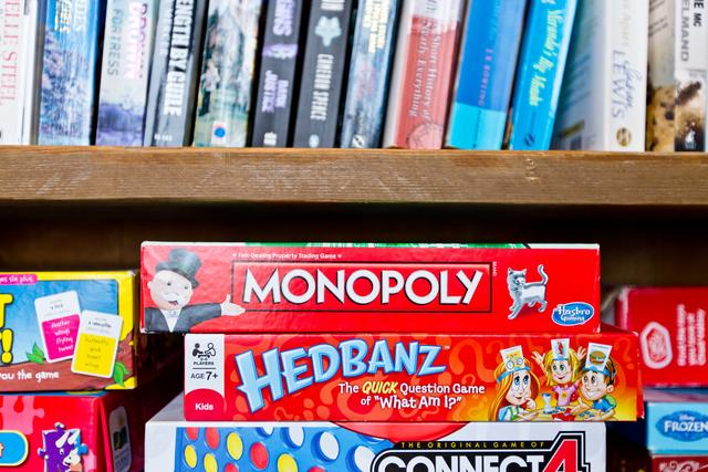 Board Games and Books