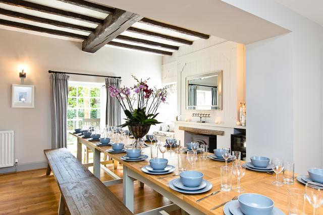 Spacious dining room - the perfect space to gather together