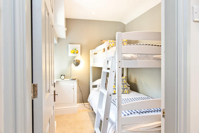 Bedroom 3 with full size bunks beds (suitable for adults)