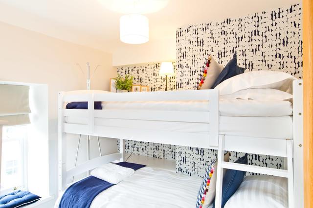 Bunk beds in Bedroom 3