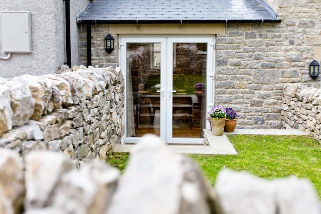 Back garden doors
