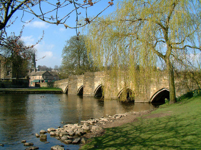 The market town of Bakewell