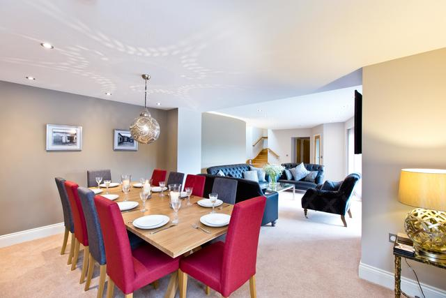 Fabulous open plan living and dining area