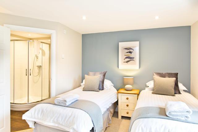 The Grange - Bedroom one with en suite