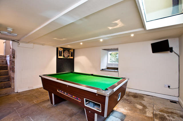 Games Room in Cellar
