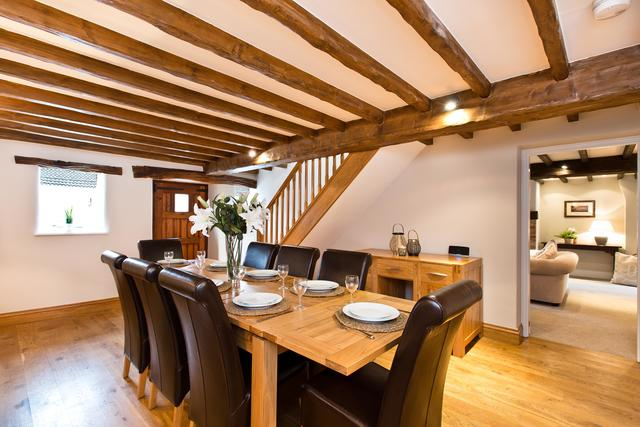 Dining area with extendable options