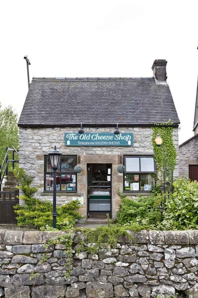 The Old Cheese Shop in the nearby village of Hartington
