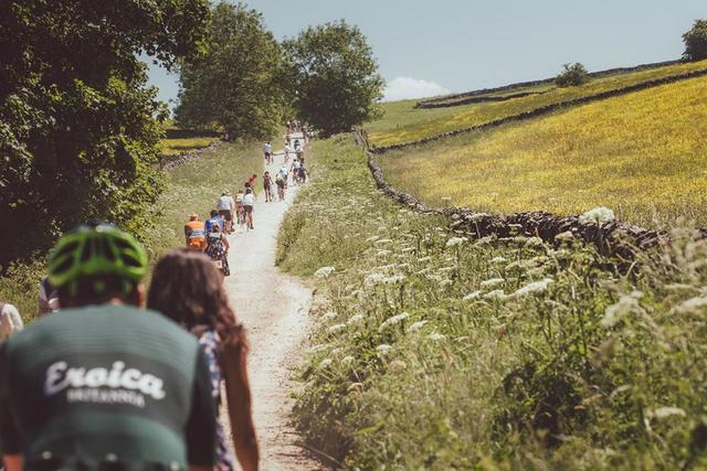 Peak District Based Cycling Festival Eroica Britannia. Celebrating Cycling in the Peak District.
