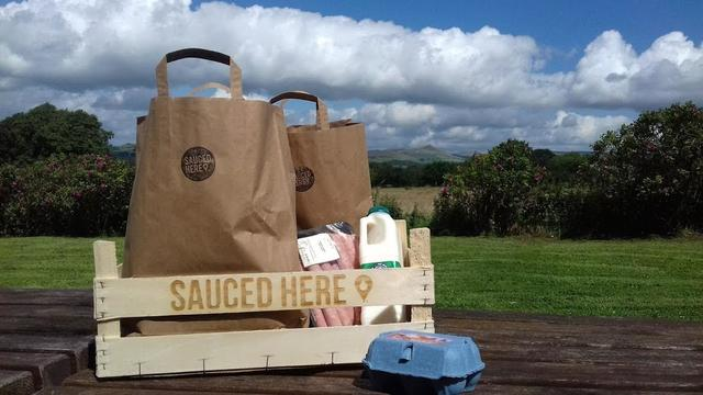 Peak District Online | Sauced Here is an Online Based Deli in the Peak District championing local produce and delivering it to local holiday makers .