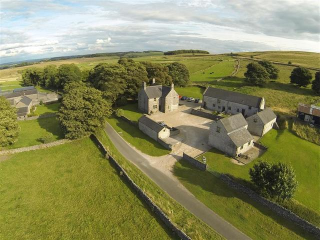 Aerial View of Hurdlow Grange