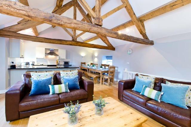 Original beams & rustic features
