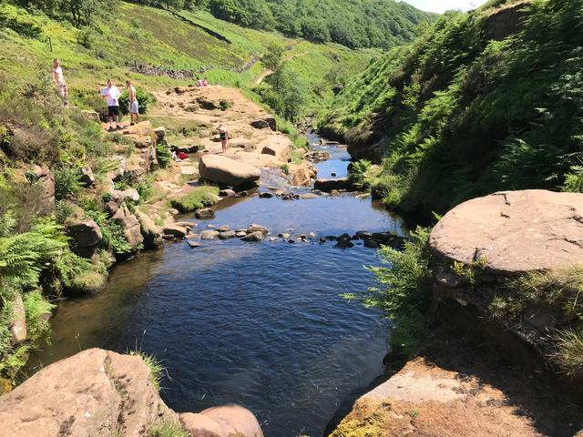 UK Derbyshire holiday family activity walking