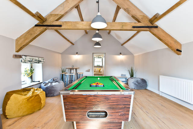 Holly Bush Farm Games Room