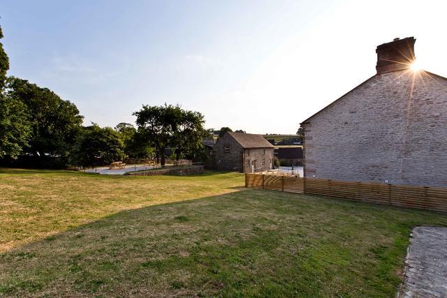 Large garden area