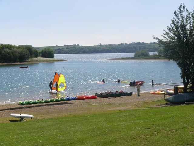 Water activities at Carsington Water