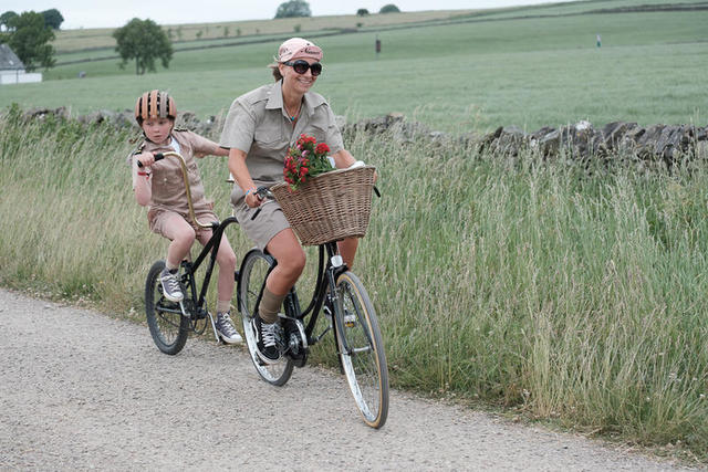 Themed cycling Derbyshire UK holiday destination