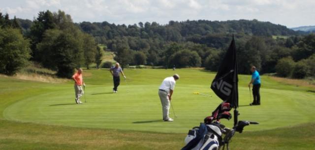 Peak District activity fun golfing holiday