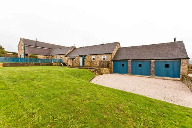 Manifold Barns- Rear View of Annexe & Games Room