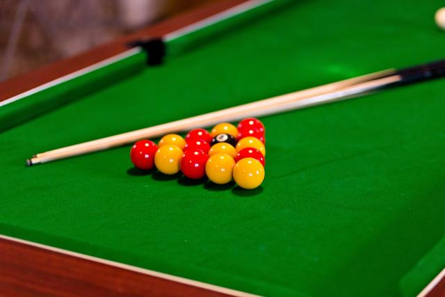 Manifold Barns Pool Table in Games Room