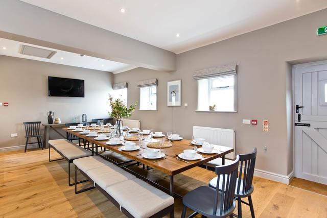 Manifold Farmhouse Dining Room