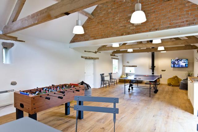 Manifold Farmhouse Games Room