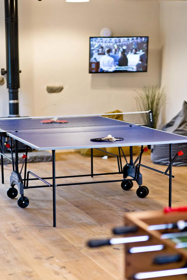 Manifold Farmhouse Table Tennis in Games Room