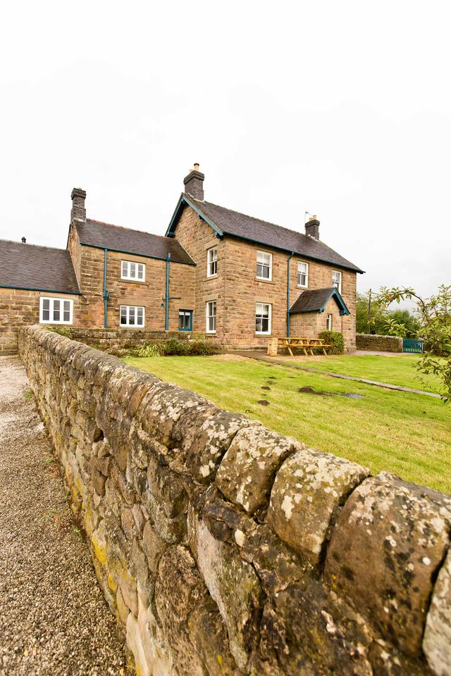 Manifold Farmhouse - Front External View