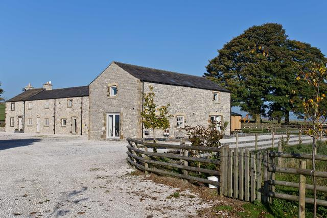 Entrance View of The Farmhouse & The Barn at Benty Grange