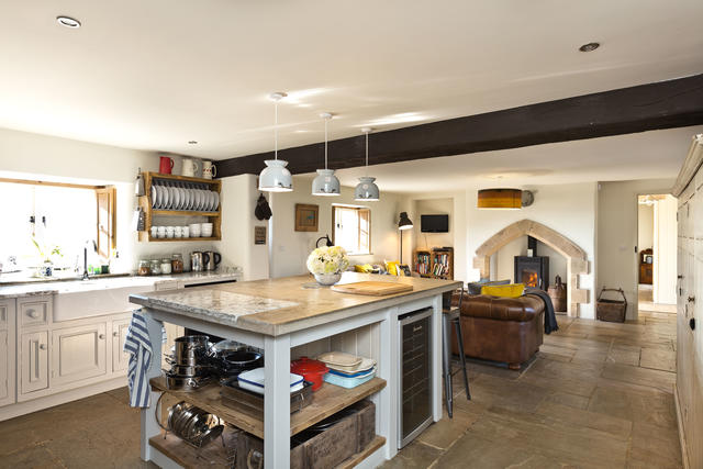 Beautiful open plan kitchen