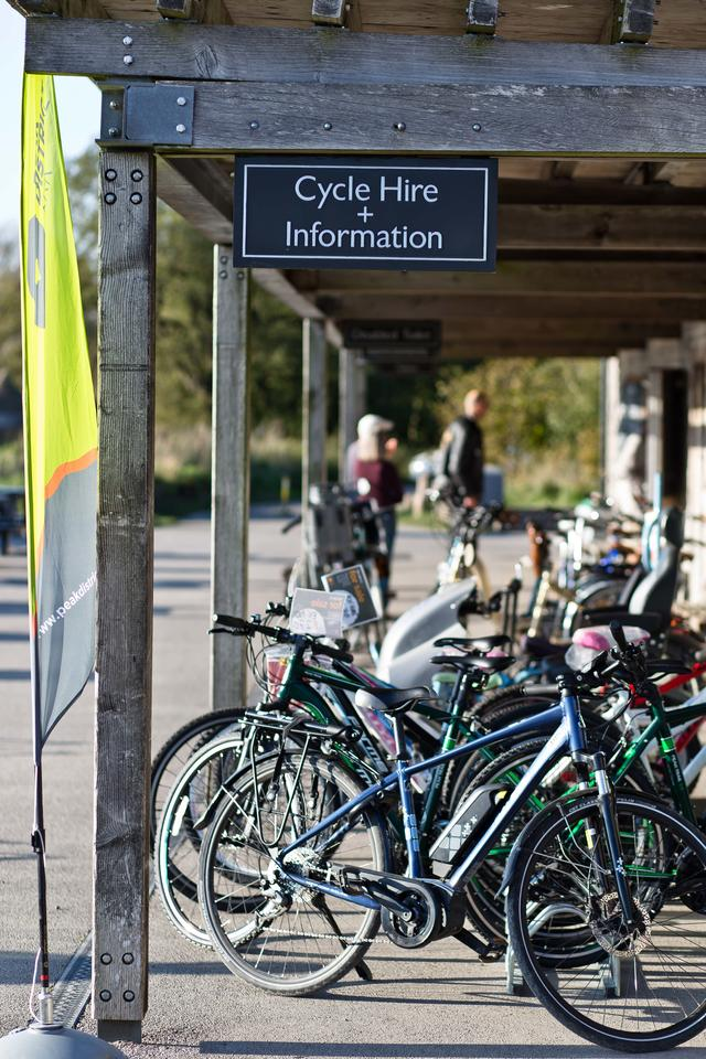 Bike Hire at Parsley Hay