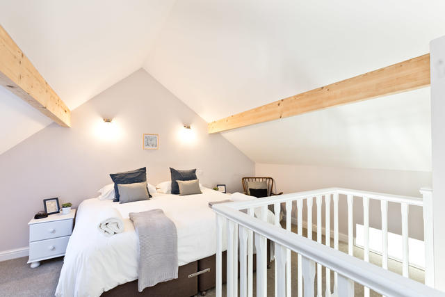 The Byre - double bedroom