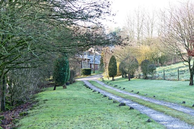 Driveway leading to Rowdale Farm