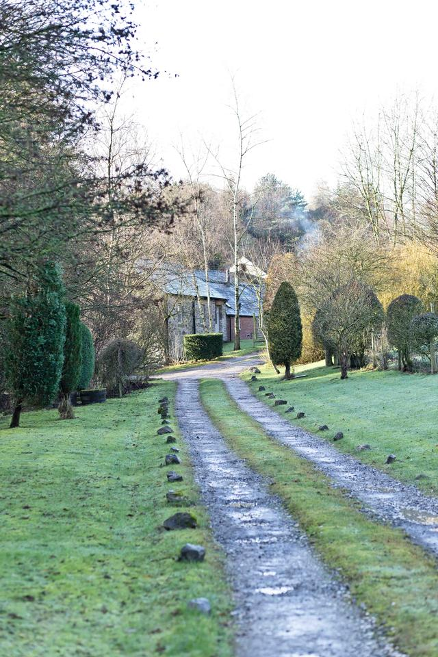 Driveway to Rowdale Barns