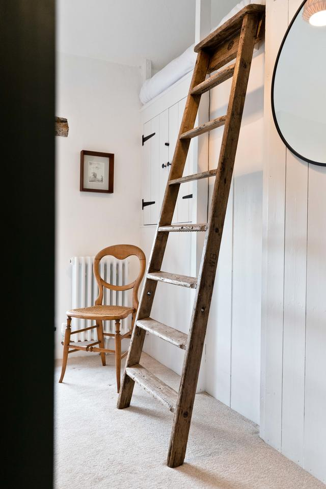 Ladder to the Loft Bed in Bedroom 2
