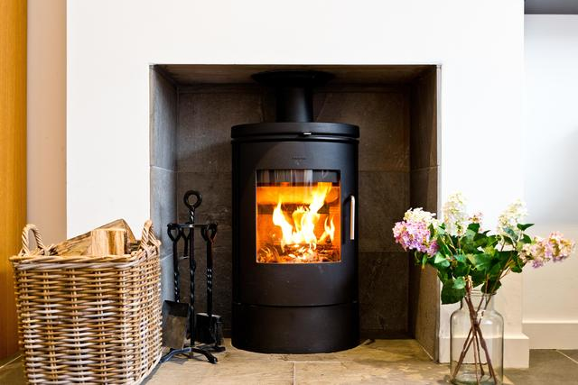 Inviting Log Burner
