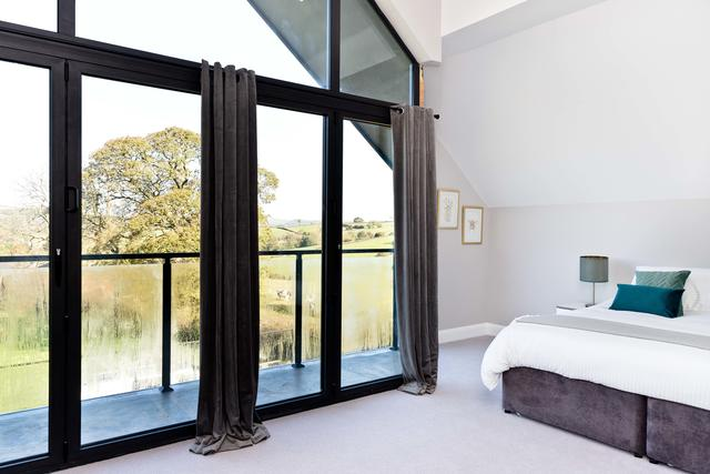 Bedroom 8 with amazing views