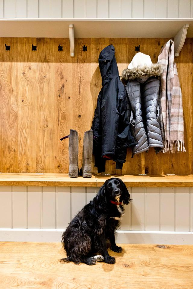 Boot Room in The Crewe and Dogs Welcome!