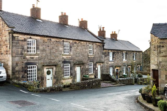The pretty village of Longnor