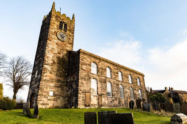 St Bartholomew's Church in Longnor