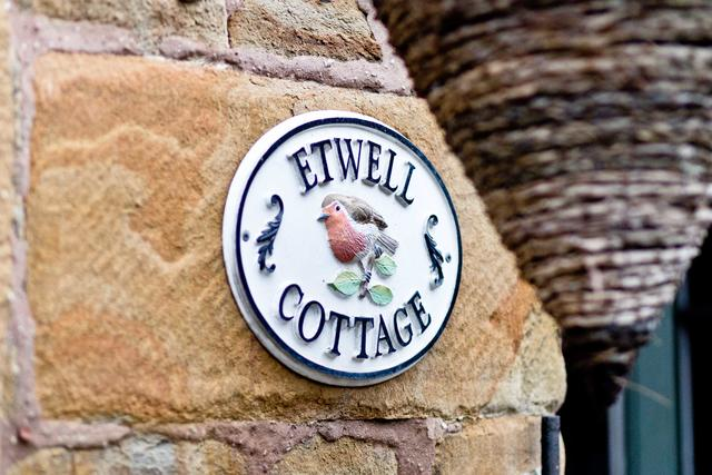 Etwell Cottage Sign