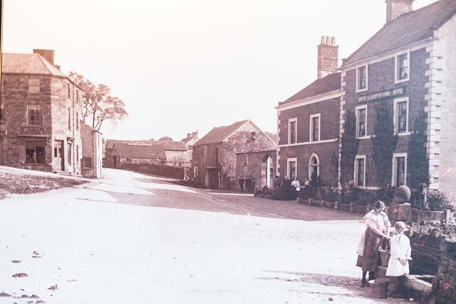 Original Photo of the Crewe Coaching Inn